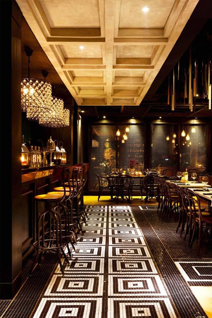 Leo Einstein Fransiscus Wilshire Restaurant Jakarta Senopati 64 - Jakarta Senopati 64 - Jakarta Seating Area Interior View Klasik  7616