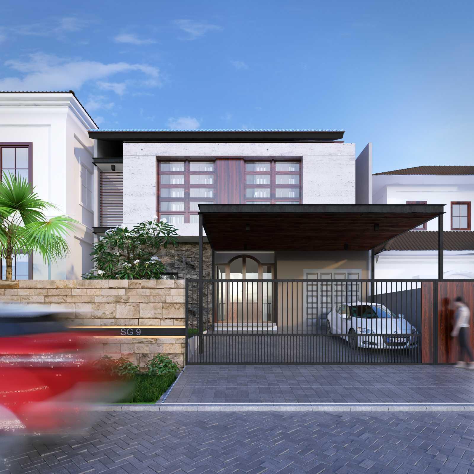 Studio Rtm Rumah Pondok Indah  Pondok Indah, Jakarta, Indonesia Pondok Indah, Jakarta, Indonesia Nico-Alt-13 Modern,tropis  28744