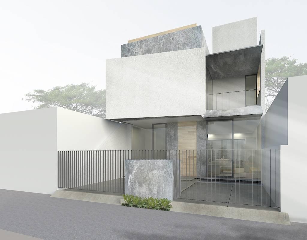 Nico Gowindra Ss-House Bsd - Tangerang Bsd - Tangerang Side View Kontemporer,modern  3790