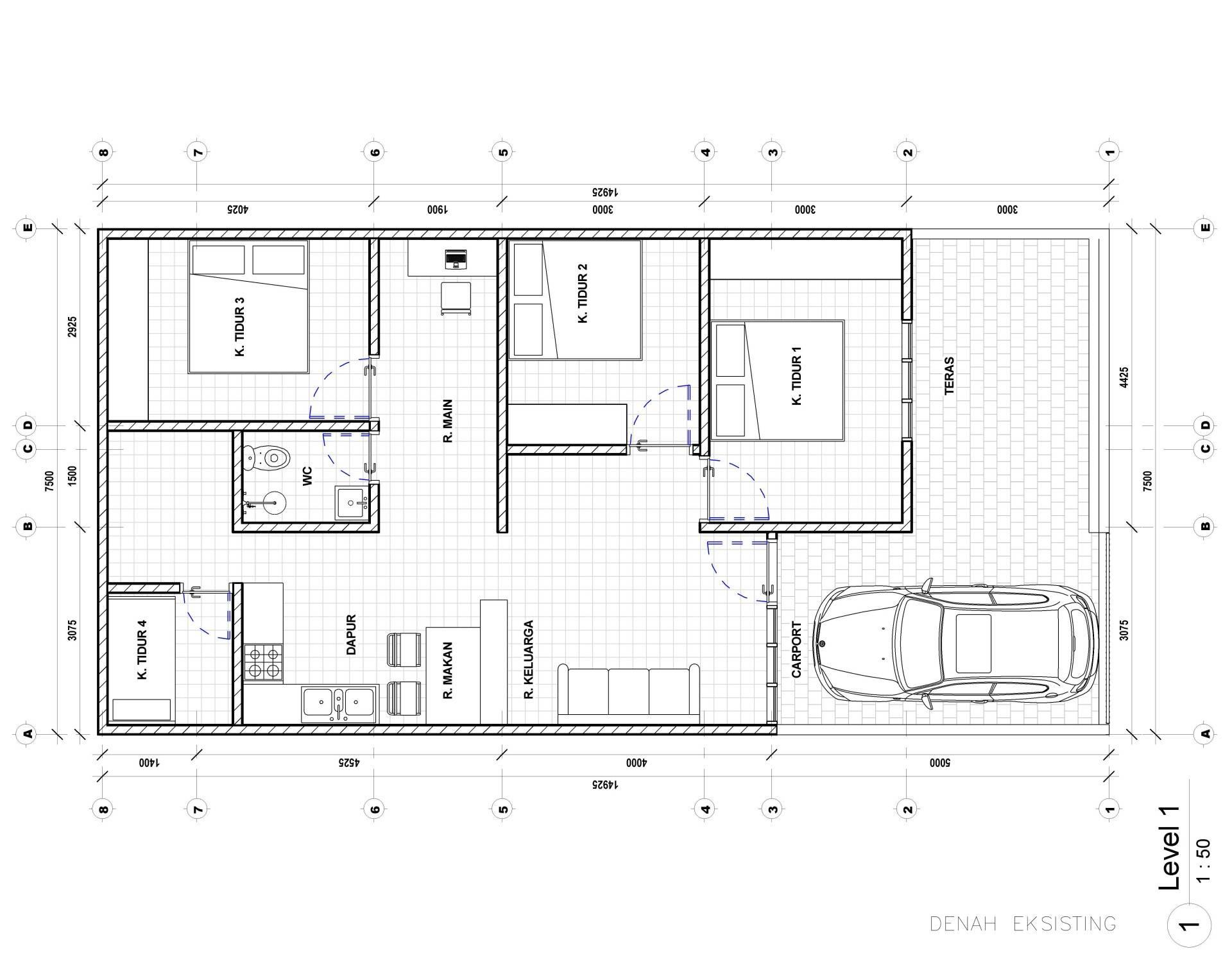 Nico Gowindra Ss-House Bsd - Tangerang Bsd - Tangerang Eksisting Kontemporer,modern  3794