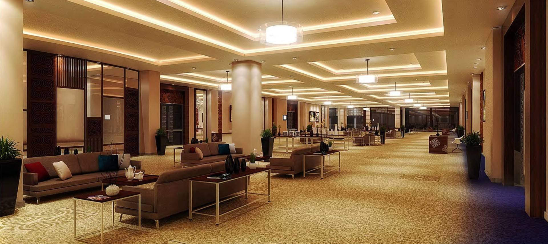Mul I.d Design Consultant Four Points Sheraton At Makassar South Sulawesi South Sulawesi Prefunction-Ballroom Modern  3869