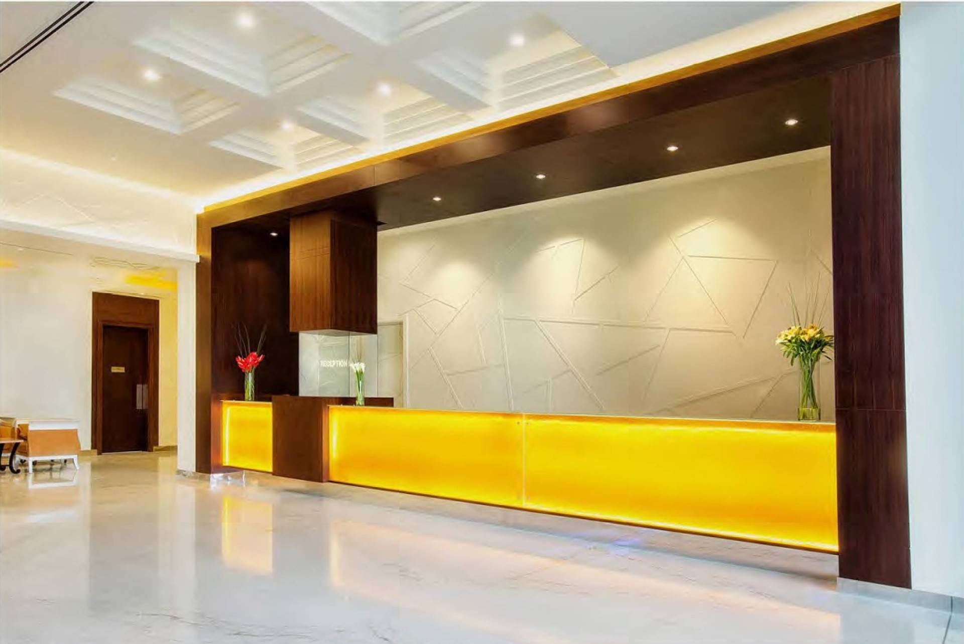 Mul I.d Design Consultant Ghaya Grand Hotel At Dubai United Arab Emirates United Arab Emirates Lobby-Lounge   3873
