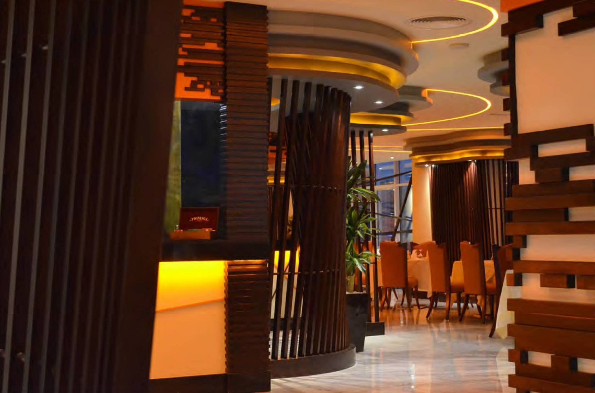 Mul I.d Design Consultant Ghaya Grand Hotel At Dubai United Arab Emirates United Arab Emirates Fushion-Restaurant2   3877