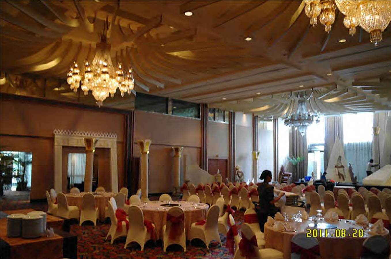 Mul I.d Design Consultant Le Meridien Hotel At Sudirman Jakarta, Indonesia Jakarta, Indonesia Ballroomold Modern  3889