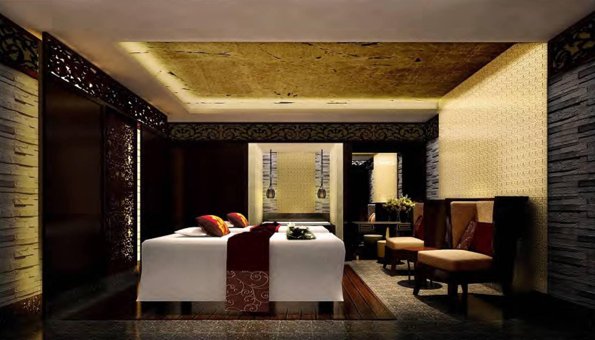 Mul I.d Design Consultant His Highness Sheikh Ammar Al Nuami's Luxury Spa At Ajman United Arab Emirates United Arab Emirates Royal-Couple-Spa-Treatment-Room Modern  3899