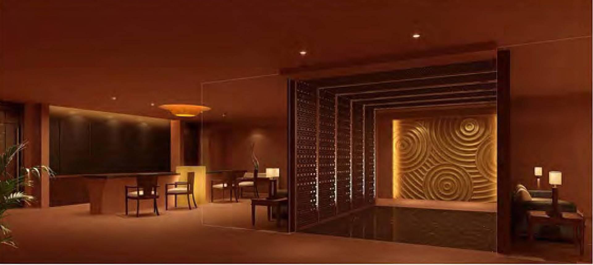 Mul I.d Design Consultant Shangri-La Hotel Qi Spa Chengdu, China Chengdu, China Lounge Kontemporer  3903