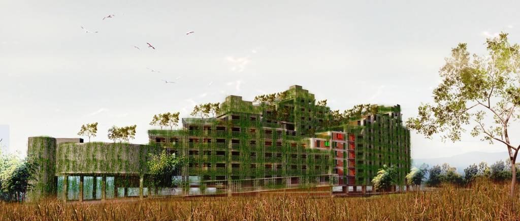 Akanoma Yu Sing Apartemen Rakyat Cingised Bandung, Indonesia Bandung, Indonesia Side-View-1 Tropis  7122