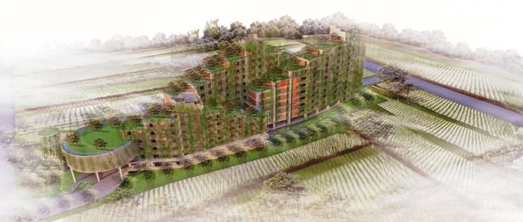 Akanoma Yu Sing Apartemen Rakyat Cingised Bandung, Indonesia Bandung, Indonesia Bird-Eye-View Tropis  7124