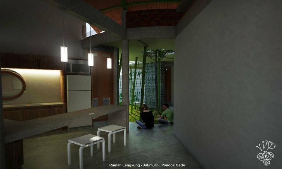 Akanoma Yu Sing Rumah Lengkung At Pondok Gede Bekasi, West Java Bekasi, West Java Rumah-Lengkung-2 Kontemporer  3977