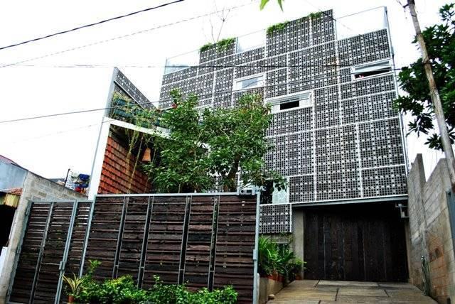 Akanoma Yu Sing Rumah Puzzle At Kebon Jeruk West Jakarta, Indonesia West Jakarta, Indonesia Tampak-Depan Tropis  4074