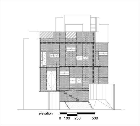 Akanoma Yu Sing Rumah Puzzle At Kebon Jeruk West Jakarta, Indonesia West Jakarta, Indonesia Denah-Irisan-Bangunan Tropis  4092
