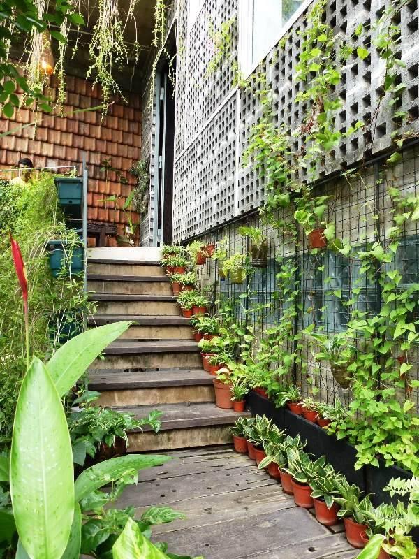 Akanoma Yu Sing Rumah Puzzle At Kebon Jeruk West Jakarta, Indonesia West Jakarta, Indonesia Tangga-Pintu-Masuk Tropis  4104
