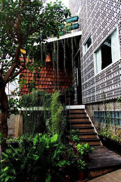 Akanoma Yu Sing Rumah Puzzle At Kebon Jeruk West Jakarta, Indonesia West Jakarta, Indonesia Tangga-Pintu-Masuk2 Tropis  4105
