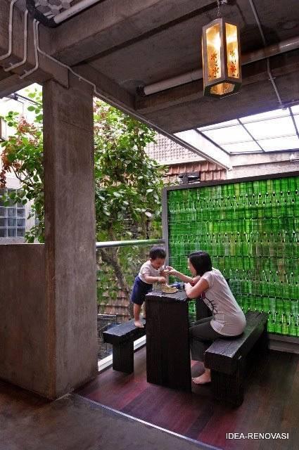 Akanoma Yu Sing Rumah Puzzle At Kebon Jeruk West Jakarta, Indonesia West Jakarta, Indonesia Teras-Dapur Tropis  4106