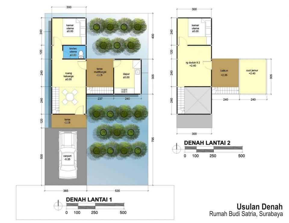 Akanoma Yu Sing Floating House At Benowo Surabaya, East Java, Indonesia Surabaya, East Java, Indonesia Site-Plan Kontemporer  4223