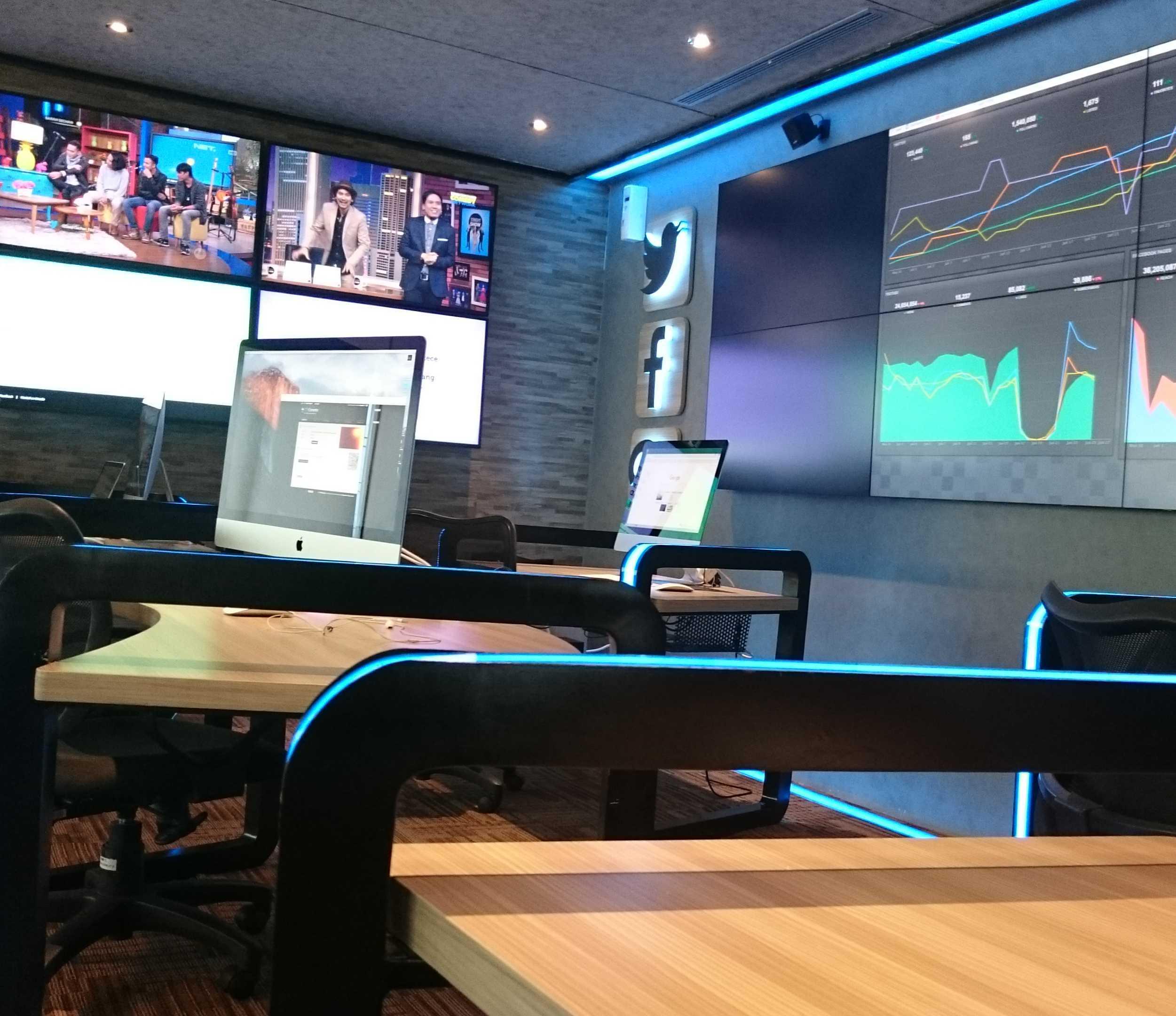 Equator.architect Net Tv Media Command Studio & Pantry Net Tv, Jakarta Net Tv, Jakarta Command Studio   16426