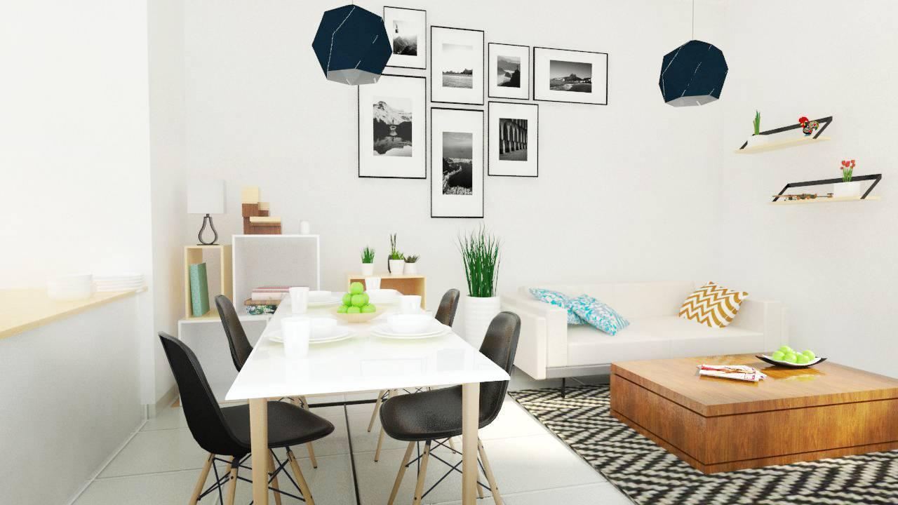 Snrg Studio Bali Modernette Fatmawati, Jakarta Selatan Fatmawati, Jakarta Selatan Dining And Living Room   4069