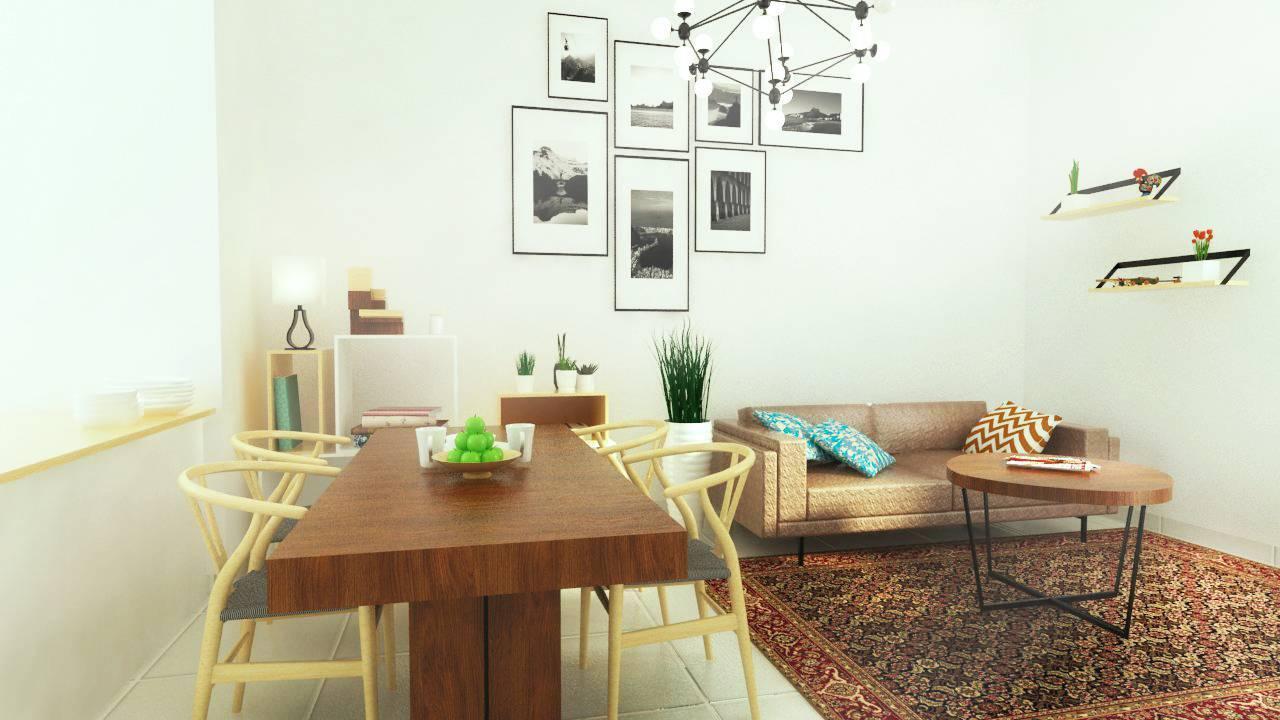 Snrg Studio Bali Modernette Fatmawati, Jakarta Selatan Fatmawati, Jakarta Selatan Dining And Living Room   4072