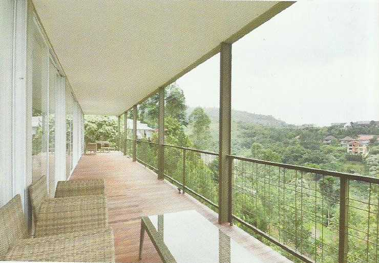 Ads Architect B3A Residence At Dago Village Bandung, West Java, Indonesia Bandung, West Java, Indonesia Terrace Modern  12560