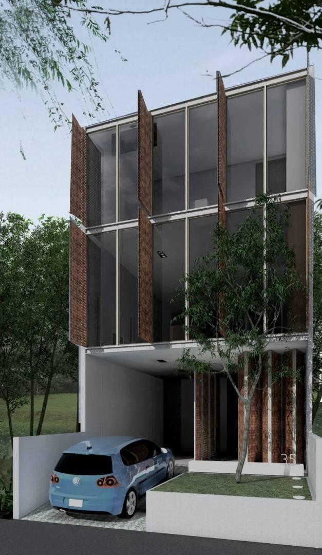 Ads Architect Mekarwangi House 'wall & Slab House' South Bandung, West Java, Indonesia South Bandung, West Java, Indonesia Perspective-1A-Day-Shot Modern,tropis  4265