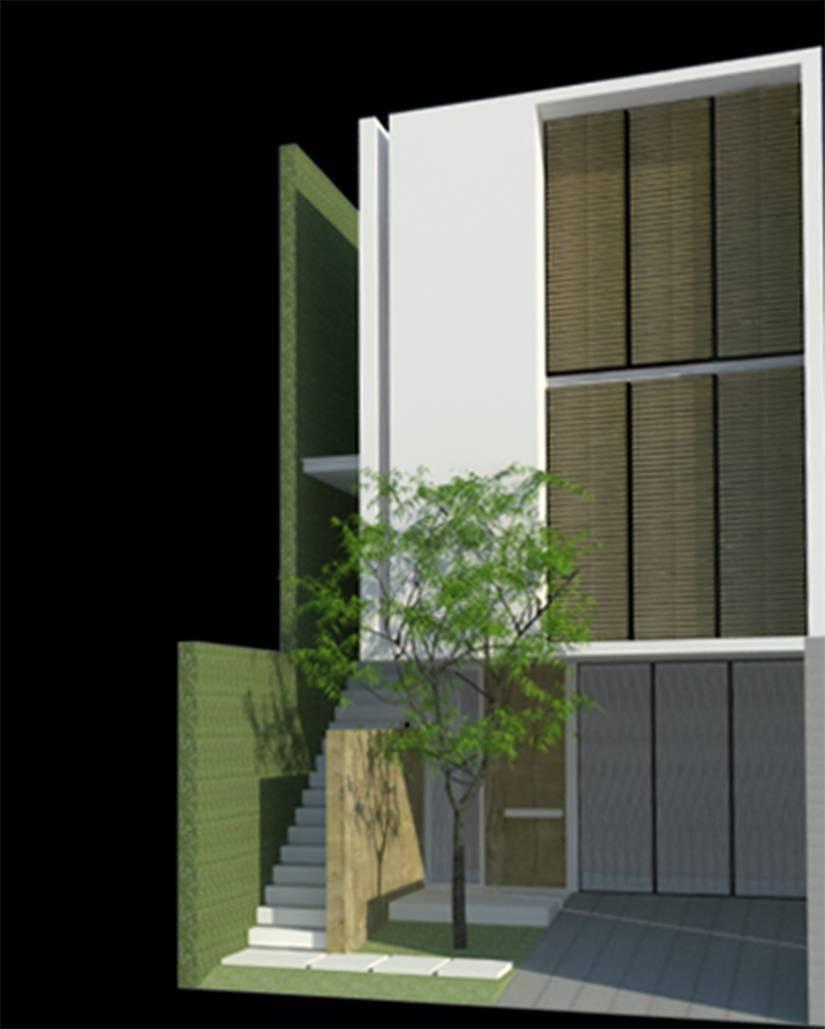 Ads Architect Mekarwangi House 'wall & Slab House' South Bandung, West Java, Indonesia South Bandung, West Java, Indonesia 01-Copy Modern,tropis  4273