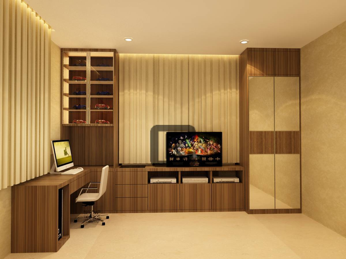 Credenza Architecture And Interior Design Residence In Pondok Indah Pondok Indah Pondok Indah Bedroom3   4748
