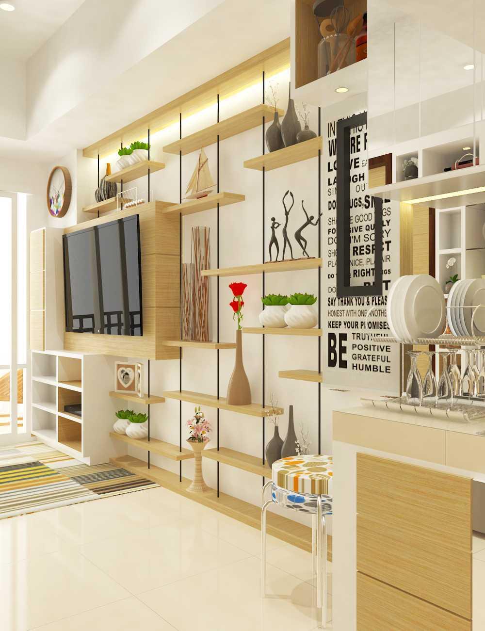 Miv Architects (Ar. Muhammad Ikhsan Hamiru, Iai & Partners) Interior Design Of Apartment Unit Makassar, South Sulawesi, Indonesia Makassar, South Sulawesi, Indonesia Apartment Room Design Kontemporer  29127