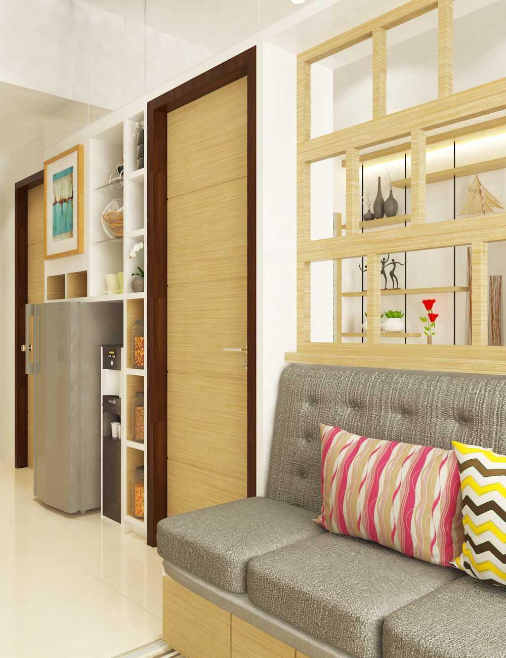 Miv Architects (Ar. Muhammad Ikhsan Hamiru, Iai & Partners) Interior Design Of Apartment Unit Makassar, South Sulawesi, Indonesia Makassar, South Sulawesi, Indonesia Apartment Room Design Kontemporer  29129
