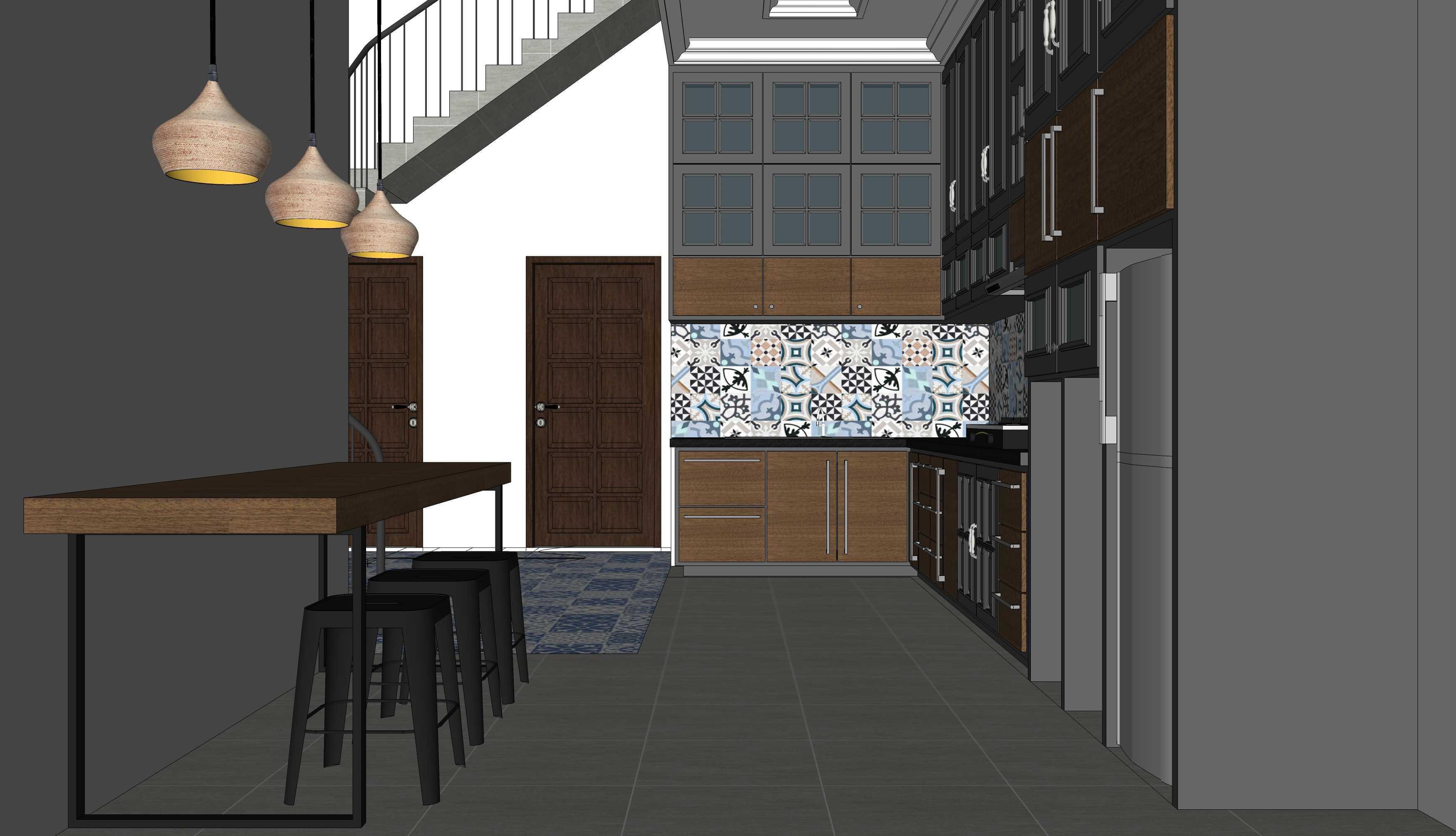 Miv Architects (Ar. Muhammad Ikhsan Hamiru, Iai & Partners) J-House Kota Makassar, Sulawesi Selatan, Indonesia Kota Makassar, Sulawesi Selatan, Indonesia Kitchen & Dining Room Kontemporer  42886