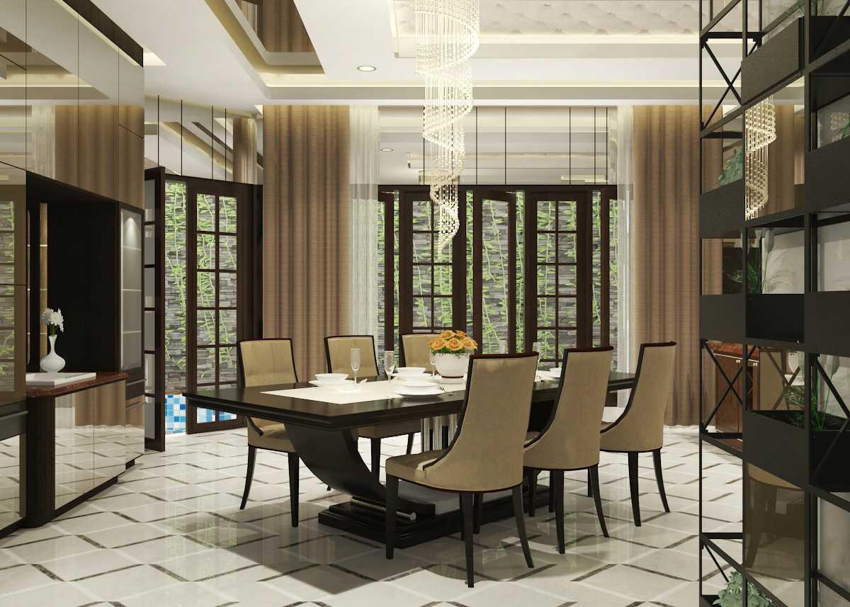 Miv Architects (Ar. Muhammad Ikhsan Hamiru, Iai & Partners) J-House Kota Makassar, Sulawesi Selatan, Indonesia Kota Makassar, Sulawesi Selatan, Indonesia Dining Room Kontemporer  42894