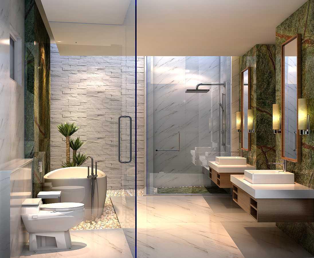 Rdesign Private Villa Subang Jalan Montana Ciater, Subang, Jawa Barat Jalan Montana Ciater, Subang, Jawa Barat Bathroom Modern  19496
