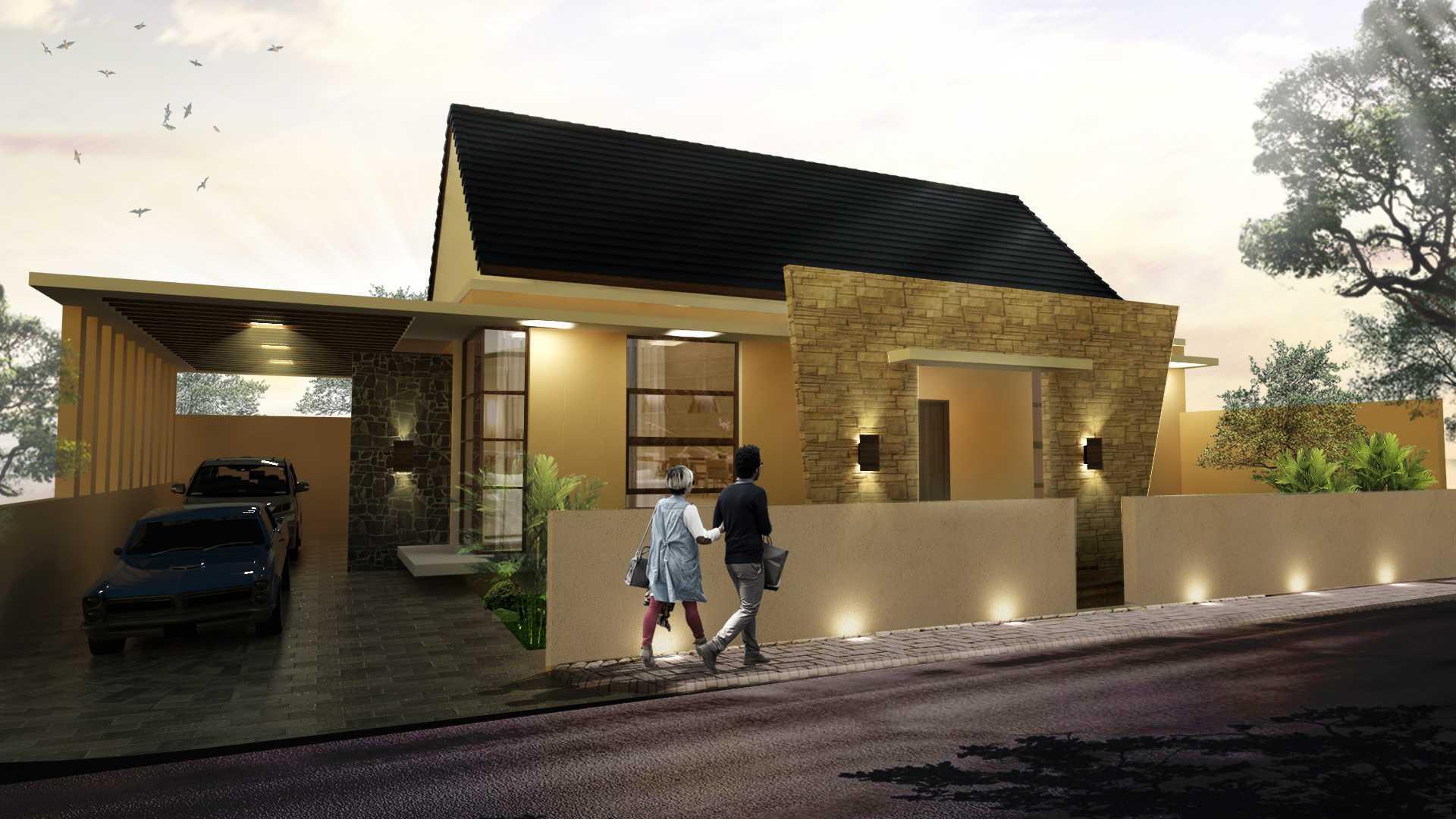 Rdesign Private House Rawalumbu Bekasi Jl. Lumbu Permai 1 No 78, Bekasi, Indonesia Jl. Lumbu Permai 1 No 78, Bekasi, Indonesia Front View Modern  19185