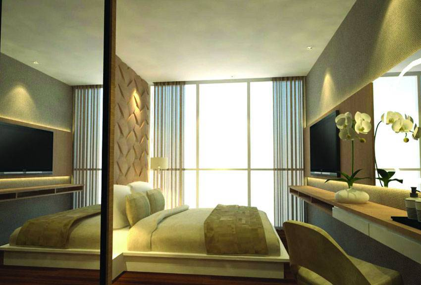 Farissa Achmadi Show Unit Apartment At Pesanggrahan Jakarta, Indonesia Jakarta, Indonesia Bedroom-1 Minimalis  5362