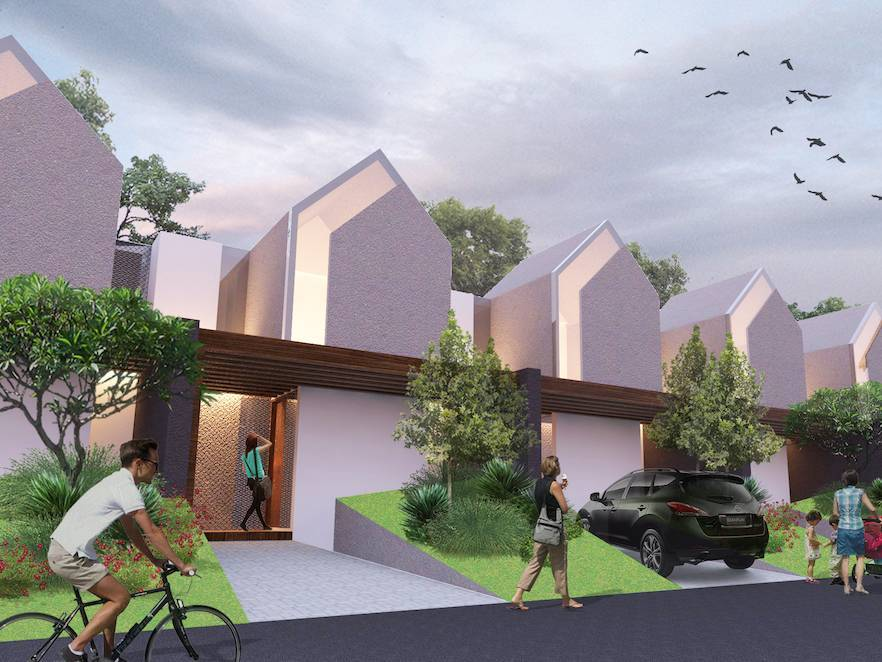 Monokroma Architect Cisauk Landed House Jakarta Jakarta Alternative Unit Minimalis  825