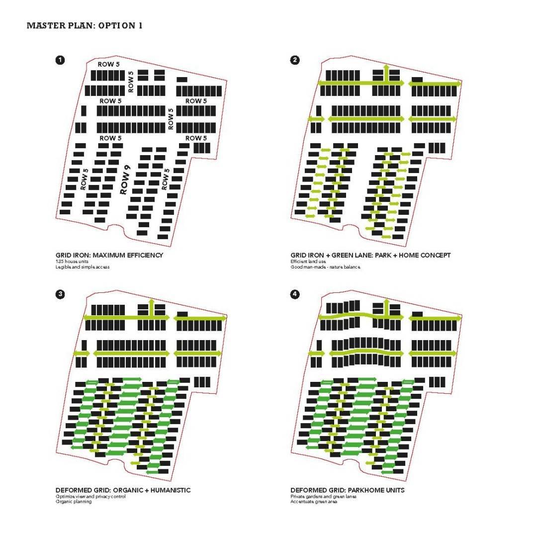 Monokroma Architect Cisauk Landed House Jakarta Jakarta Masterplan Diagram Minimalis  828