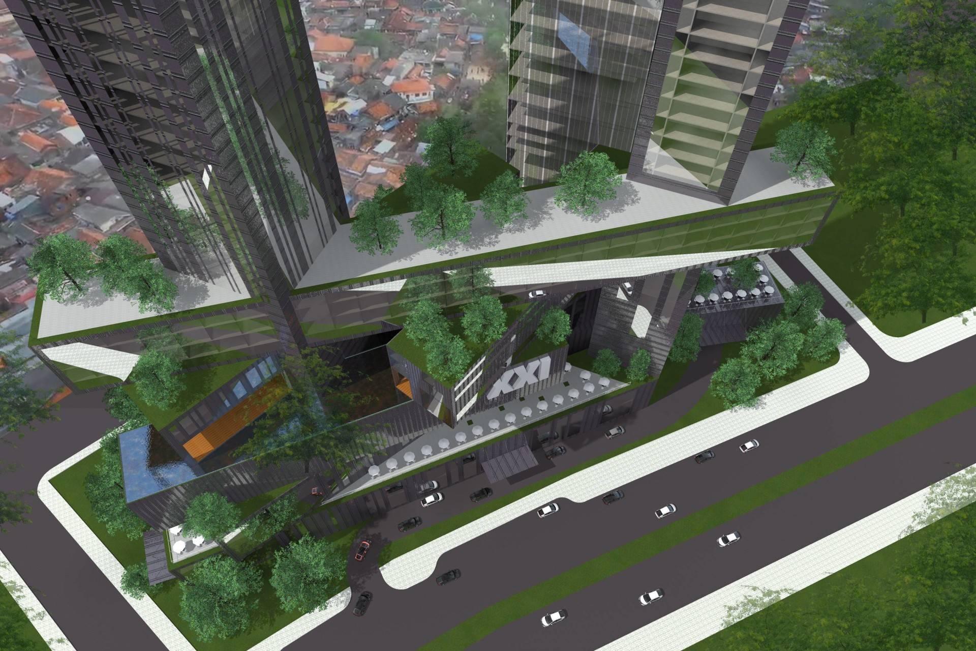 Monokroma Architect Platinum Condominium South Tangerang, Banten South Tangerang, Banten Bird Eye View Modern  6837
