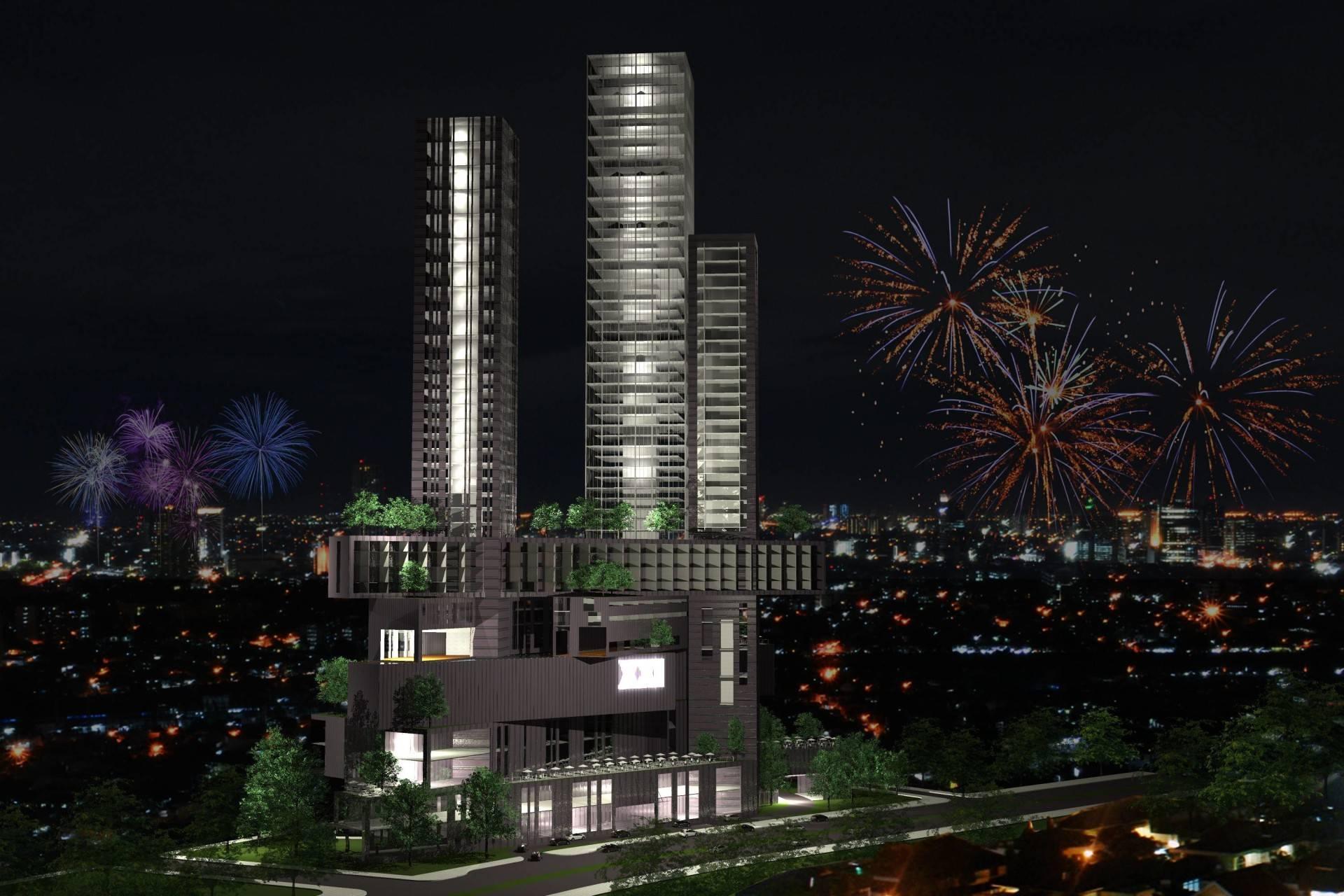 Monokroma Architect Platinum Condominium South Tangerang, Banten South Tangerang, Banten Front View Modern  6838