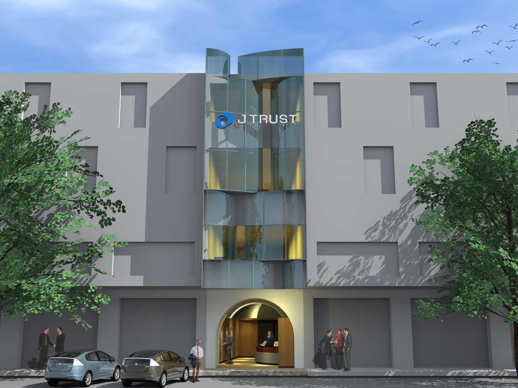 Monokroma Architect J Trust Bank Facade Jakarta Jakarta 12-Alternative-3-1 Modern  14892