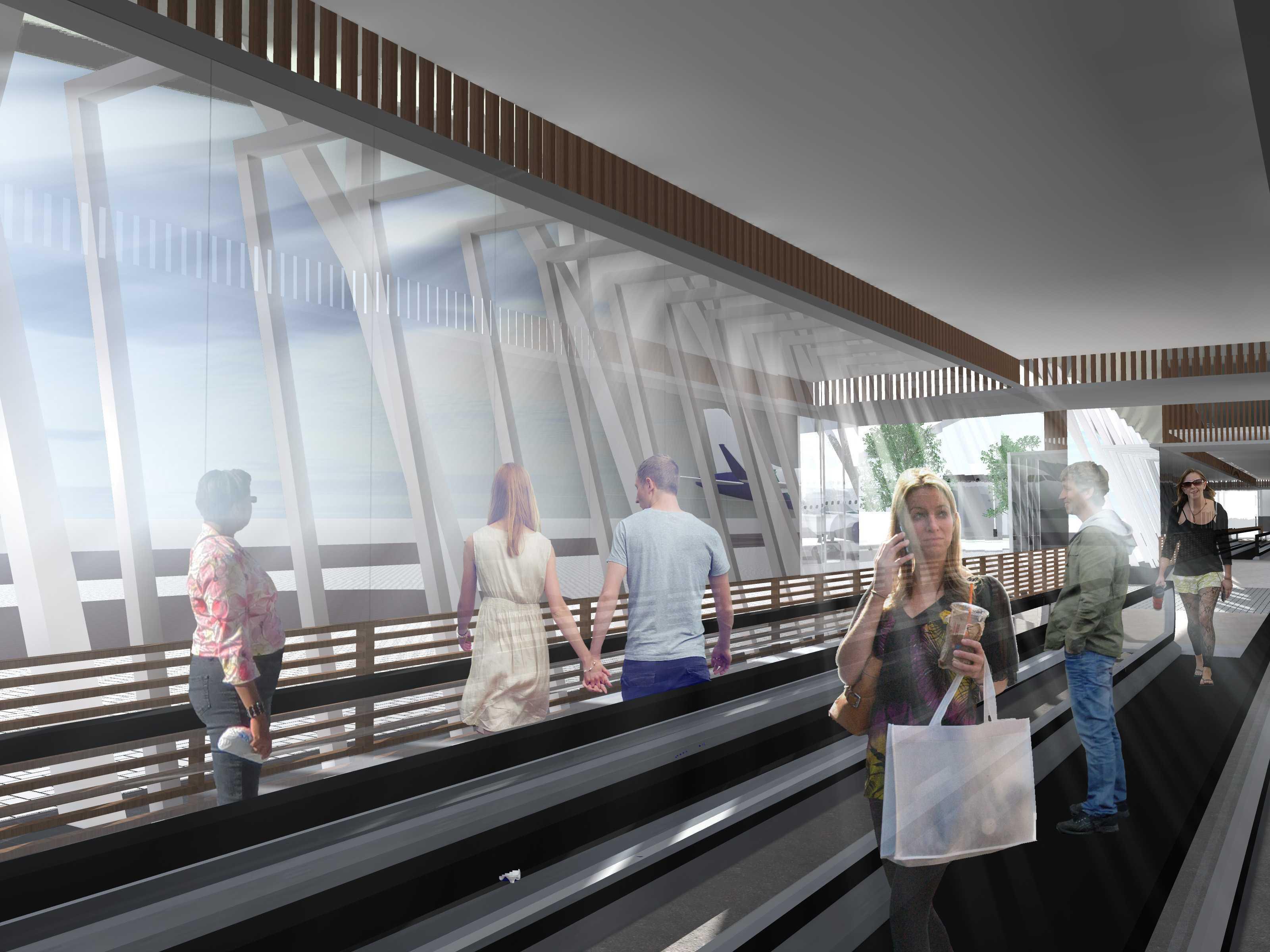 Monokroma Architect Adisutjipto Airport Terminal Connector Jogjakarta Jogjakarta 16-Interior Modern  15044