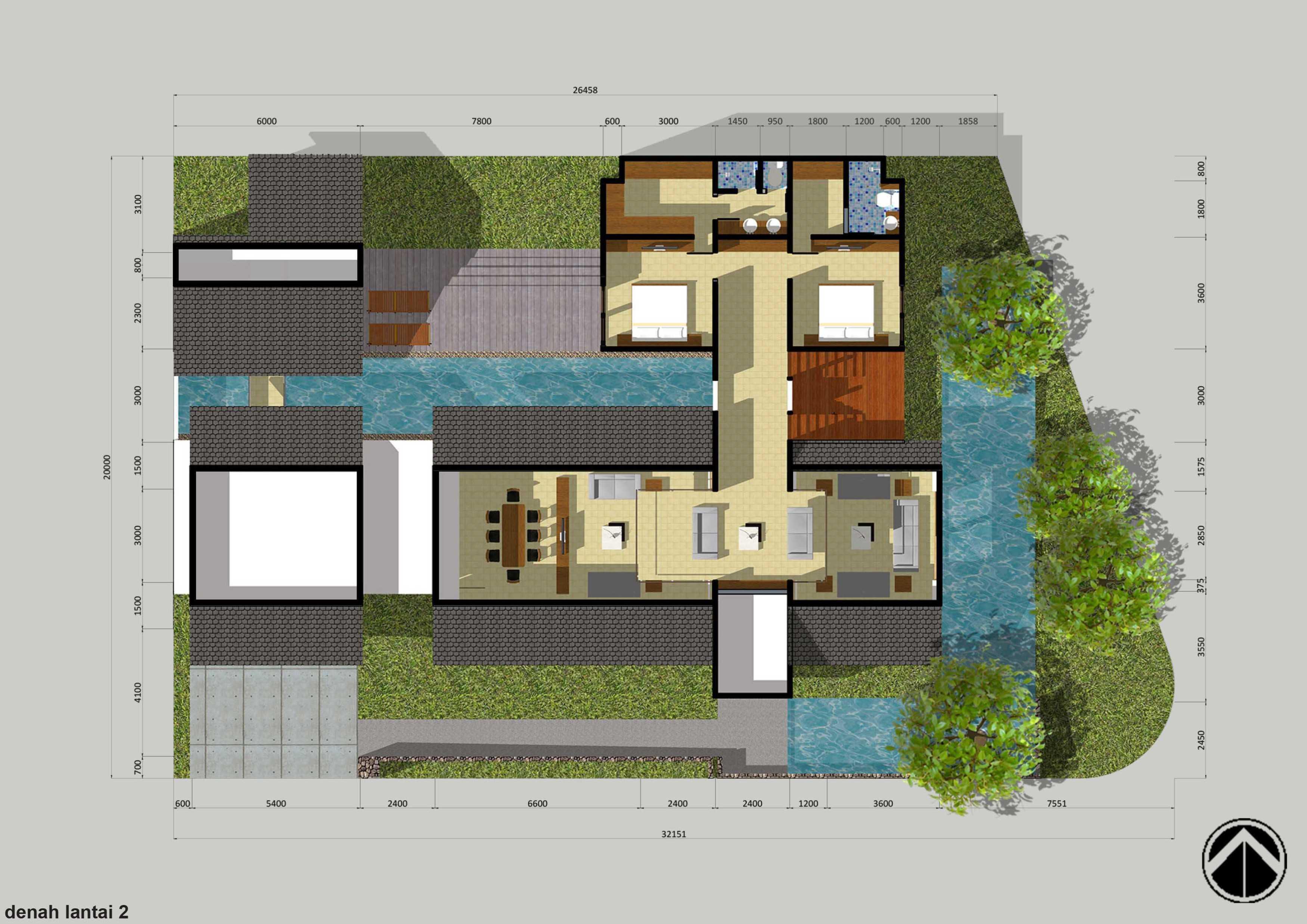 Monokroma Architect Puri Indah House Jakarta Jakarta 2-Draft-1-1St-Floor-Plan   15128