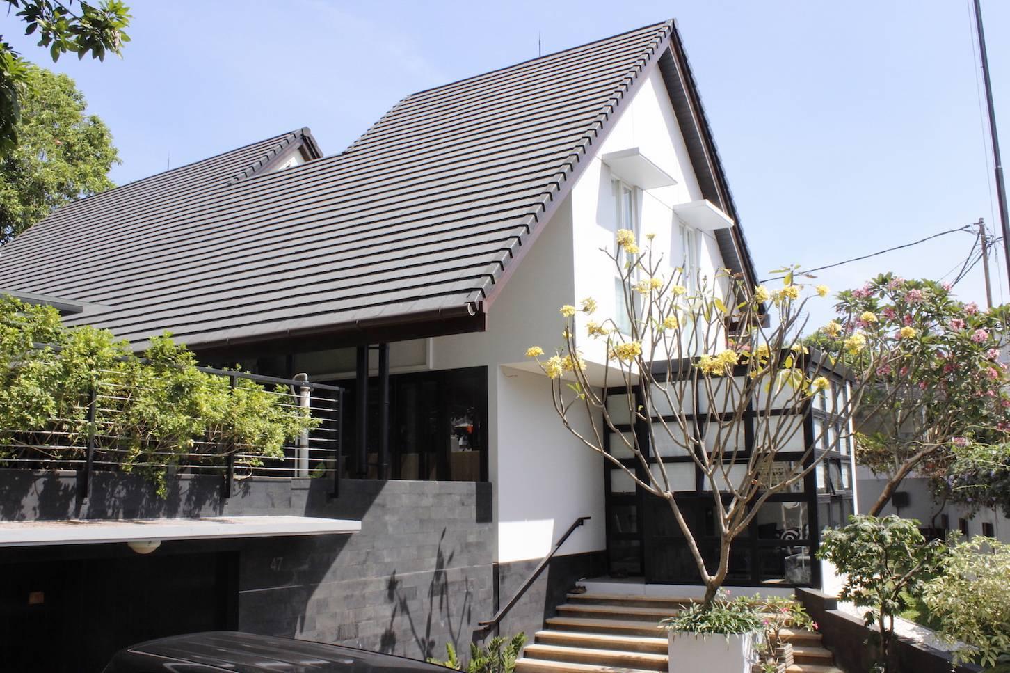 Monokroma Architect Cijantung House Jakarta Jakarta Facade   431