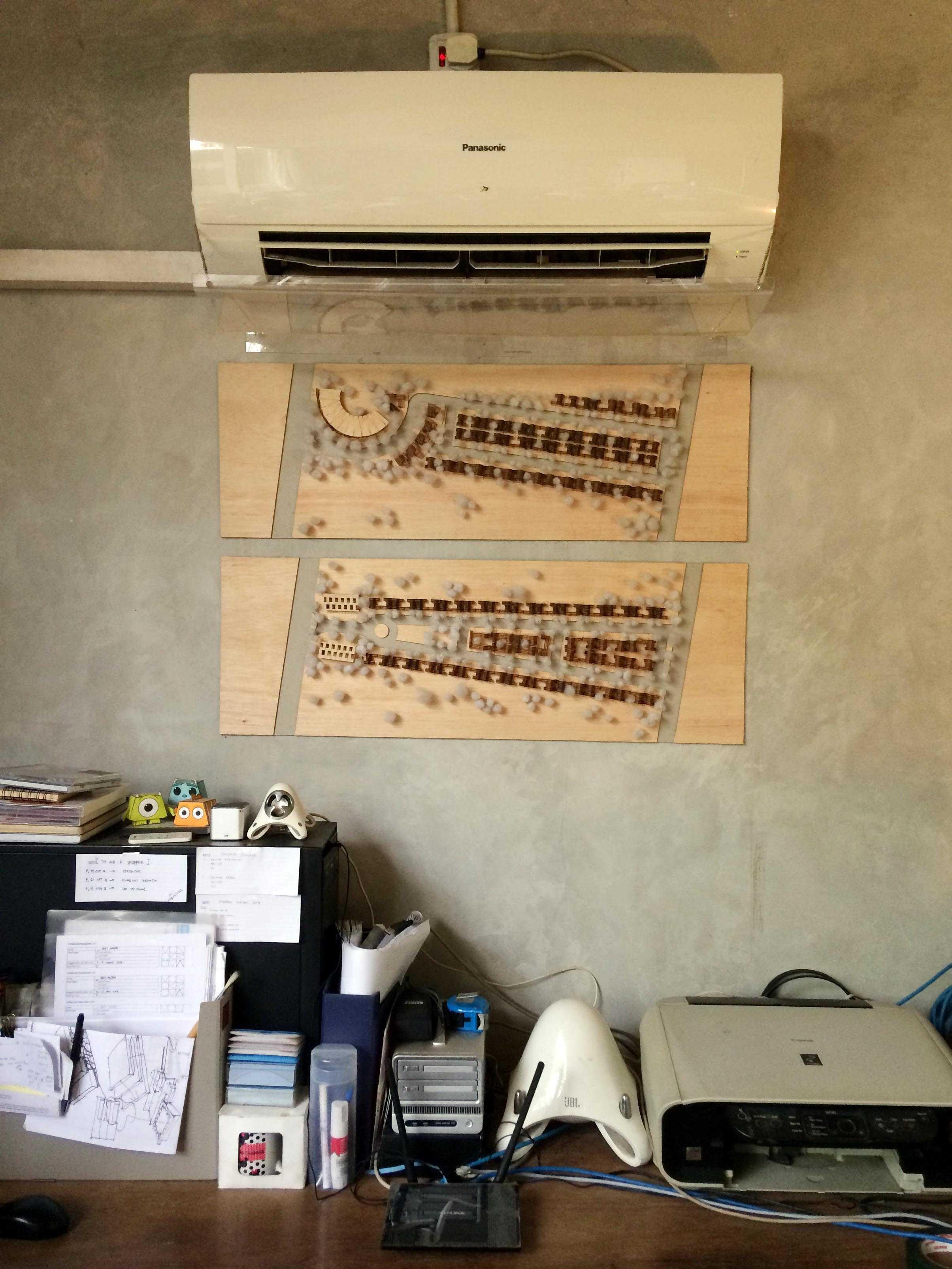 Monokroma Architect Monokroma Architect Office Lippo Karawaci Lippo Karawaci 10-Wall Modern  23592