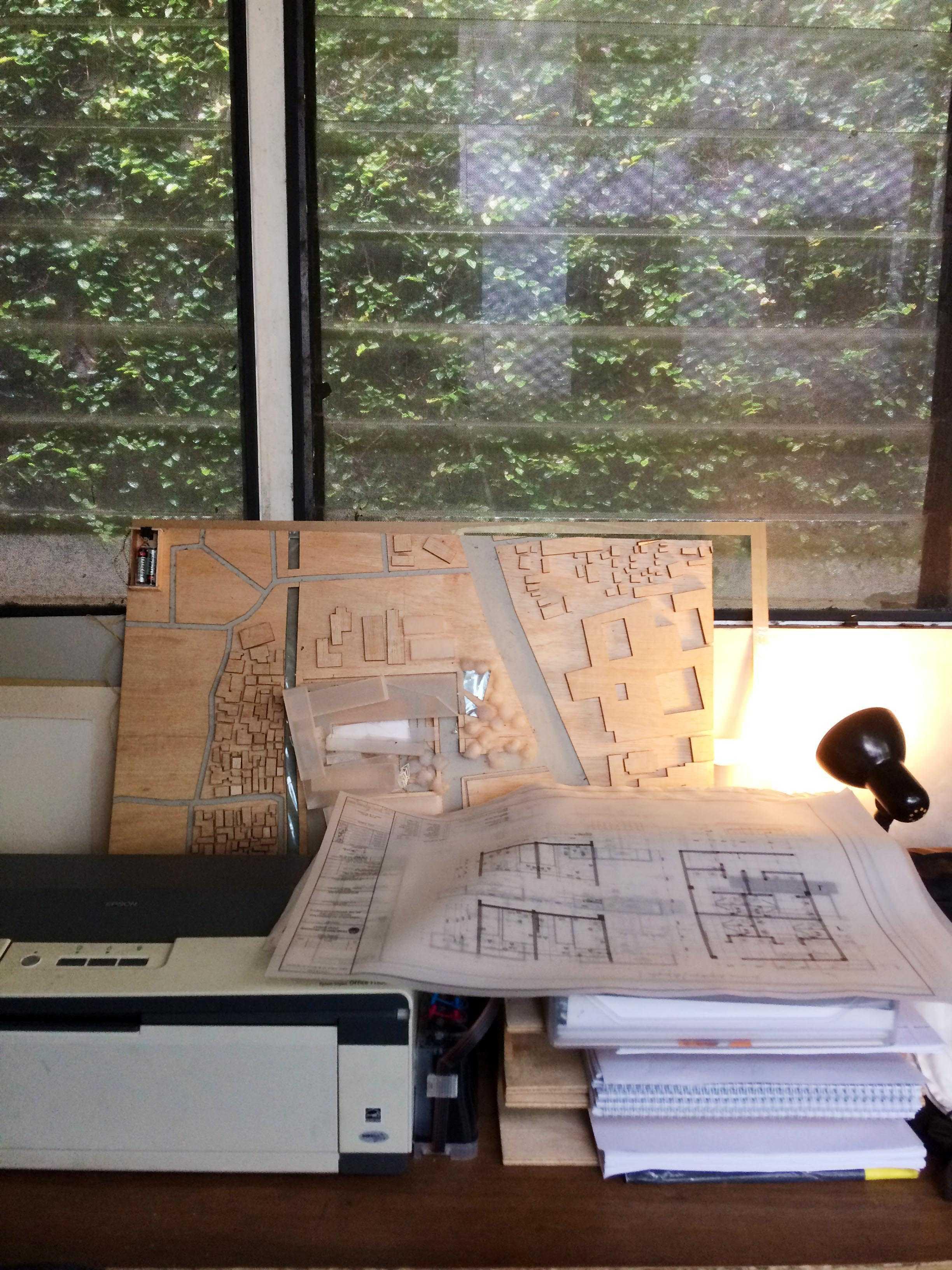Monokroma Architect Monokroma Architect Office Lippo Karawaci Lippo Karawaci 11-Window Modern  23593