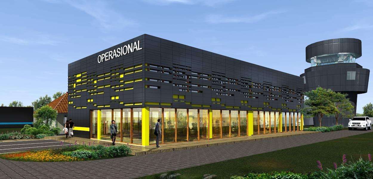 Monokroma Architect Ternate Airport Ternate Ternate Airport Modern  484