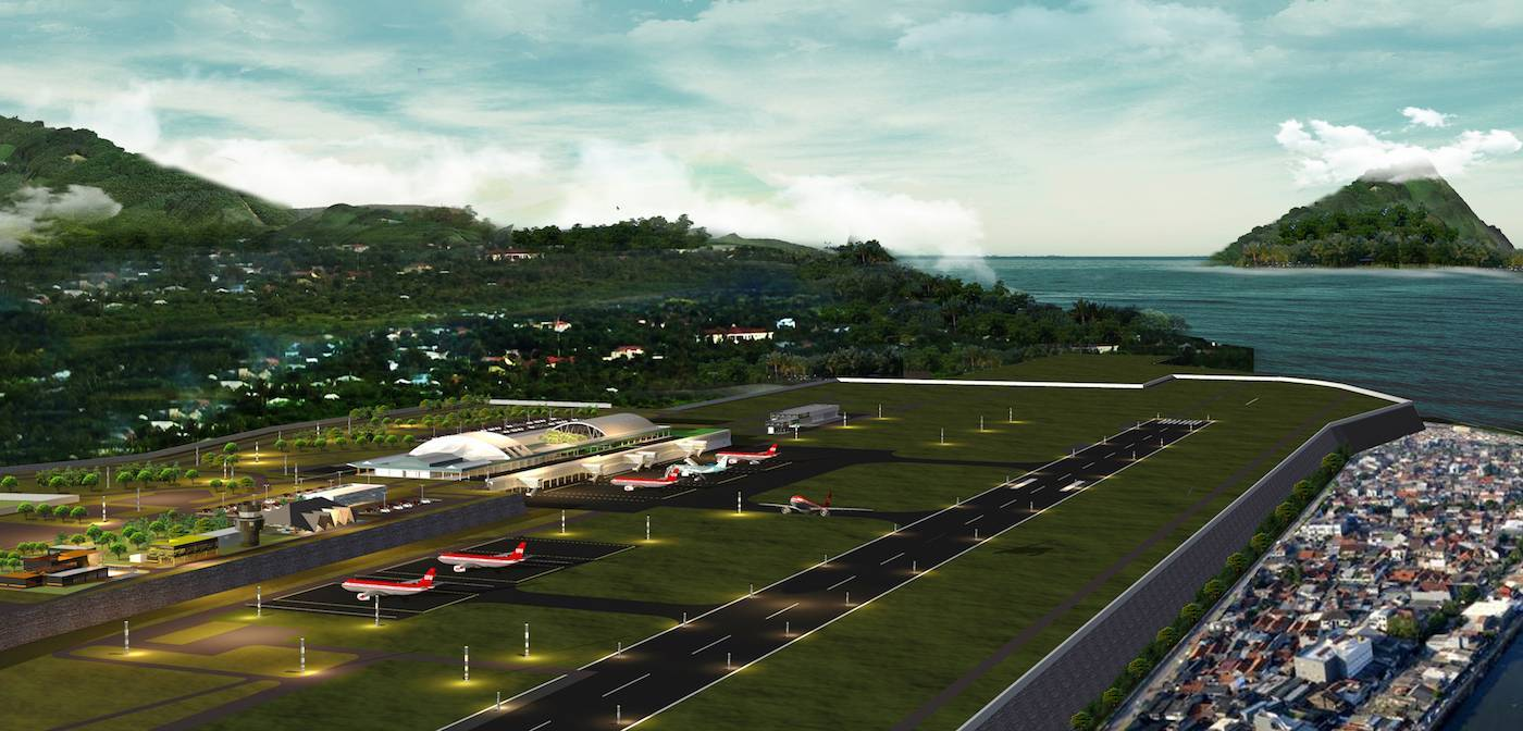 Monokroma Architect Ternate Airport Ternate Ternate Aerodrome Modern  491