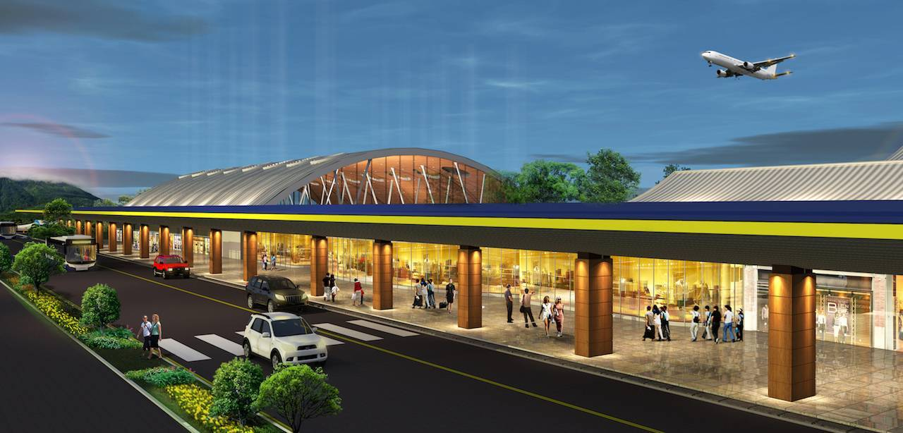 Monokroma Architect Ternate Airport Ternate Ternate Terminal Modern  492