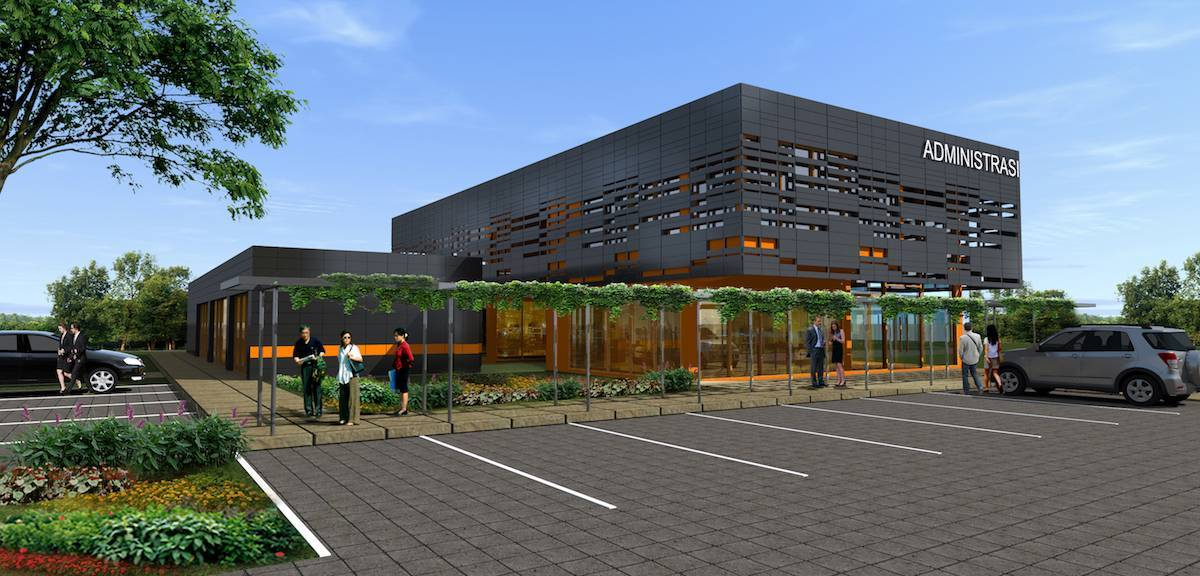 Monokroma Architect Ternate Airport Ternate Ternate Parking Area Modern  493