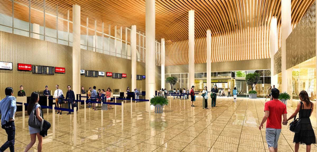 Monokroma Architect Labuan Bajo Airport Labuan Bajo Labuan Bajo Check In Area Modern  499