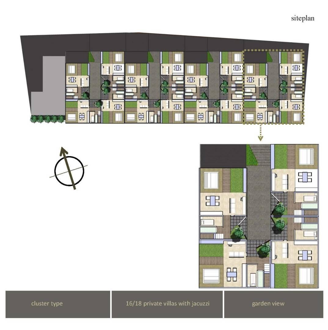Monokroma Architect Villa Kabe-Kabe Jimbaran, Bali Jimbaran, Bali Masterplan   504