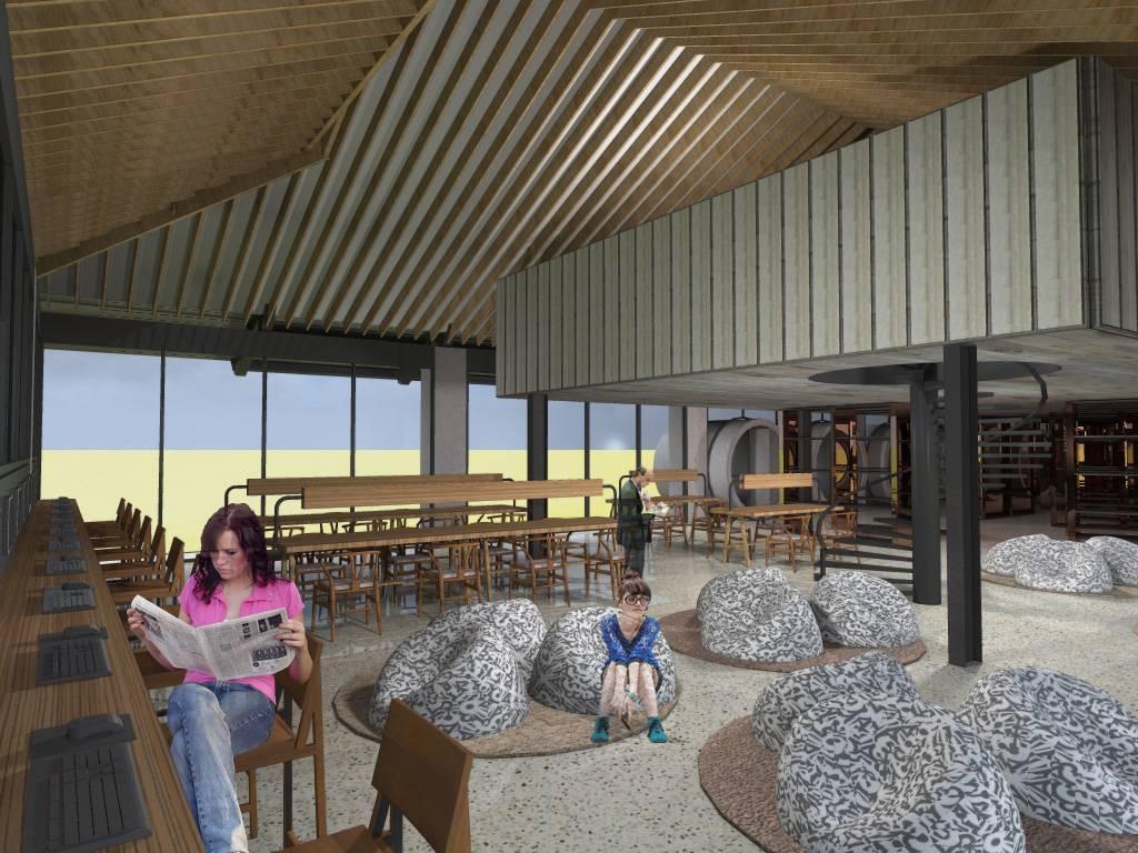 Monokroma Architect Bali Culinary Pastry School Bali Bali Library Industrial  544